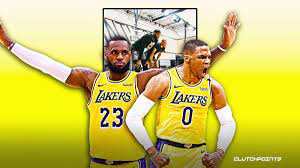Lakers news: LeBron, Russ already in ...