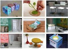 how to build miniature furniture. Cardboard Dollhouse Furniture How-tos! AMAZING! So Many Possibilties | Miniatures Pinterest Furniture, Doll Houses And How To Build Miniature