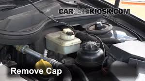 fix power steering leaks cadillac catera 1997 2001 1997 6 check level determine the power steering fluid level