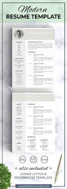 Resume Template Instant Download Modern Resume Cv Template