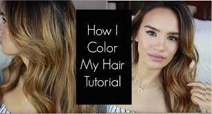 How I Color My Hair Tutorial