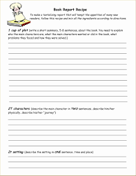 Book Report Templates Middle School Book Report Template Middle School Free Awesome Printable 4th Grade
