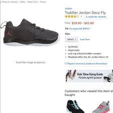 New Infant Toddler Size 5 Jordan Tennis Shoes Nwt
