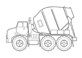 Small Picture Construction coloring pages cement mixer ColoringStar