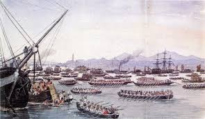 the turning point of chinese history first opium war spring figure 2 british ships approaching canton in 1841