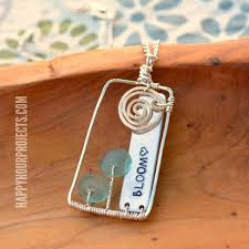 bloom wire wrapped fl scene pendant at happyhourprojects com
