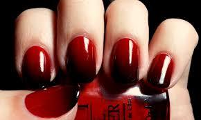 červené Nehty S černým Vzorem černá S červenou Manikúrou