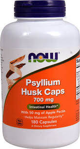 NOW <b>Psyllium Husk Caps</b> -- <b>700</b> mg - 180 <b>Capsules</b> - Vitacost