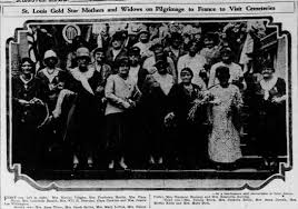 Gold Star Mothers Tour- 3rd row, 4th from left, Myrtle Klein. -  Newspapers.com