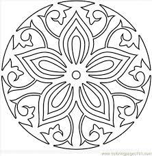 Mandala Coloring Pages Printable For Adults Or Mandala Coloring