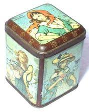 cws pelaw antique. CHARMING RARE ANTIQUE CWS BISCUITS TIN 1890s LADIES/GIRLS OF THE UK SALLY ANNIE Cws Pelaw Antique