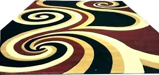 black and brown area rugs red cream rug extraordinary