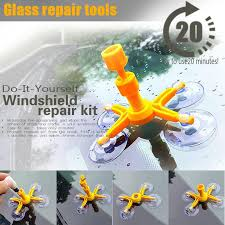 car windshield glass repair kit diy for auto window re windscreen repair tools