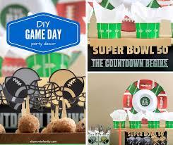 Homemade Super Bowl Decorations DIY Football Party Decorations Free Cricut Explore Cut Files 8