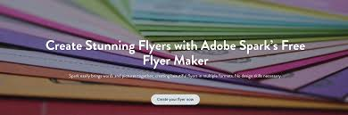 Make A Free Printable Flyer Flyer Maker Create Beautiful Flyers For Free Adobe Spark 9