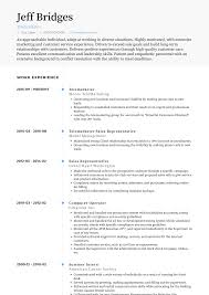 Telemarketing Resumes Telemarketing Resume Samples Templates Visualcv