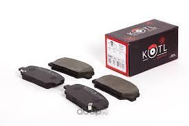 KOTL 3582KT <b>Комплект передних тормозных колодок</b>