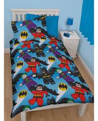 lego batman dc superheroes dynamic single duvet cover set