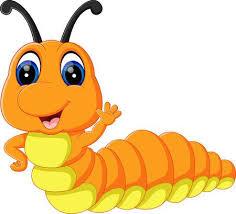 caterpillar clipart. Simple Clipart Illustration Of Cute Caterpillar Cartoon Illustration Inside Caterpillar Clipart