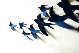 metal bird wall art nz