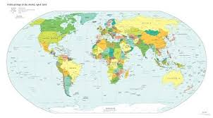 High Quality World Map Free High Resolution Map Of The Political World