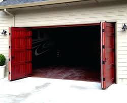 folding garage doors exterior bi door hardware