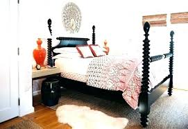 Moroccan Bed Frame Beautiful Bedroom With Canopy Bed Style Frame ...