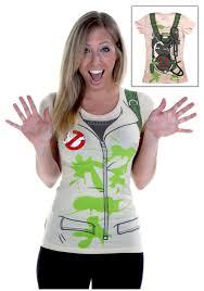 womens costume ghostbusters t shirt
