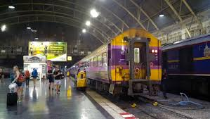 we took the 7 30 p m night train from bangkok s hua lamphong station for surat thani the night train helped us save on accommodation costs and it was