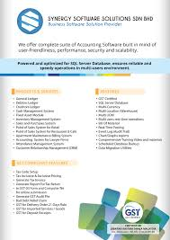 Brochure Synergy Software Solutions Sdn Bhd