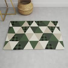hunter green camping cabin glamping cheater quilt baby nursery gender neutral rug