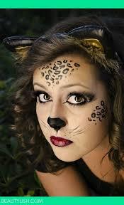 wild cat face makeup cute for zz