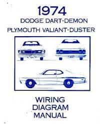 dodge dart & plymouth duster & valiant wiring diagrams mopar alternator wiring diagram at 1974 Dodge Dart Wiring Diagram