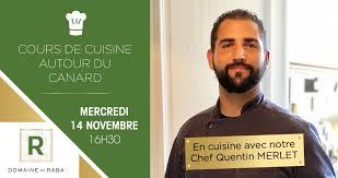 Cours De Cuisine Au Domaine De Raba Domaine De Raba