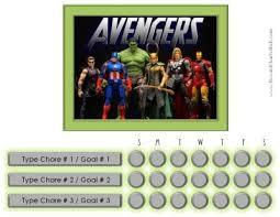 Avengers Potty Chart Pin On Potty Training
