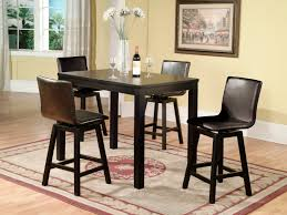34 black kitchen table and chairs set counter height dinette sets homesfeed obodrink com