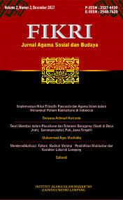 Dampak dari gerakan radikal dan teroris dapat berimplikasi terhadap dinamika ekonomi dan politik yang dapat mengalami. Implementasi Nilai Filosofis Pancasila Dan Agama Islam Dalam Menangkal Paham Radikalisme Di Indonesia Fikri Jurnal Kajian Agama Sosial Dan Budaya