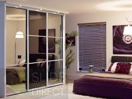 3 sliding wardrobe doors 3 panel monaco style opening width 1780mm 3430mm