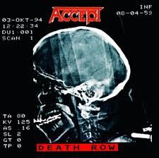 <b>ACCEPT</b> - <b>DEATH ROW</b> - Music On Vinyl