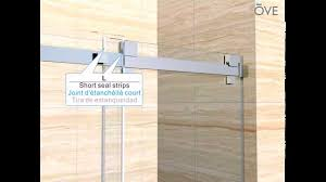Ove Decors Shower Doors Ove France Shower Alcove Installation Youtube