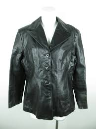 details about wilsons leather women s sz xl long sleeve 4 on black motorcycle jacket