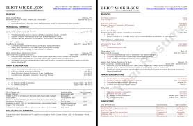 Dream Resume Eliot Mickelson