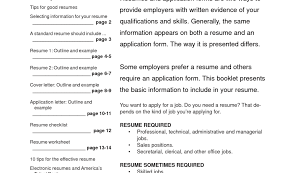 Amazing Build A Better Resume Images Entry Level Resume Templates