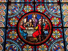 stained glass art in church