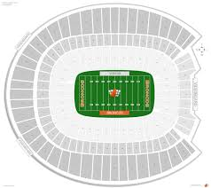 Sports Authority Field Mile High Stadium Seating Chart Particular Invesco Field Seat Map 2019
