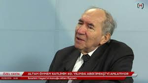 Altan Öymen katlinin 40. yılında Abdi İpekçi'yi anlatıyor - YouTube