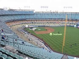 Dodger Stadium Seating Chart Map Seatgeek