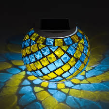 Outdoor Solar Mosaic Lamp  Best Solar Garden Lights Manufacturer Solar Mosaic Garden Lights