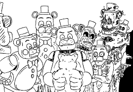 A Dumping Ground For Shitty Drawings Bear Animatronics Dealing