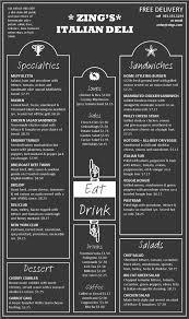 Restaurant Menu Layout Ideas Menu Templates Blue Moon Inspiration Menu Menu Template Menu